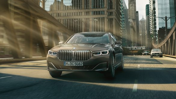 BMW 7er Limousine front