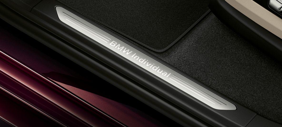 BMW X7 Inspire Individual Einstiegsleiste