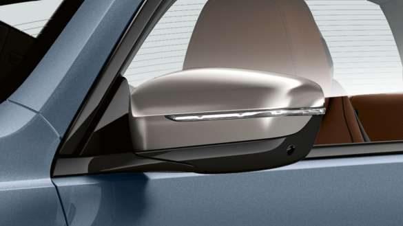 BMW 8er Coupé Spiegelkappen in Kontrastfarbe Galvanik Ceium Grey