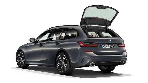BMW 3er Touring separat öffnende Heckscheibe
