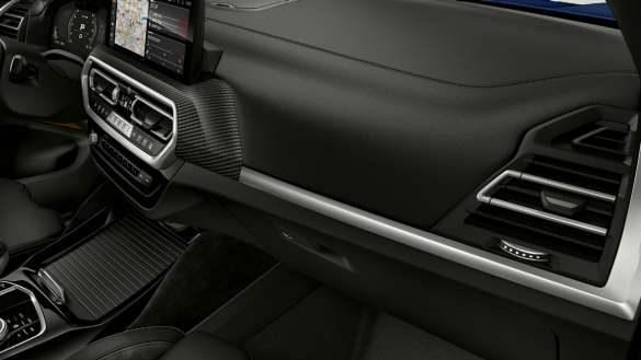 BMW X3 M Competition F97 LCI Facelift 2021 Interieurleisten 'Carbon Fibre' Innenraum