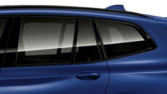 BMW X3 M Competition F97 LCI Facelift 2021 M Hochglanz Shadow Line