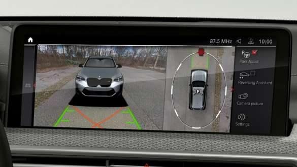BMW X4 M Automobile F98 G02 LCI Facelift 2021 Parking Assistant Plus Control Display